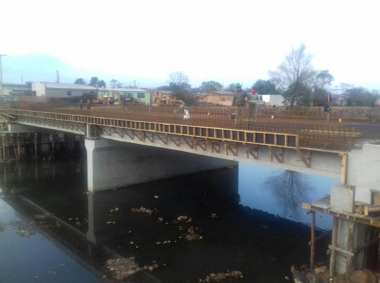 Ponte sobre Arroio Passo Fundo - Tabuleiro