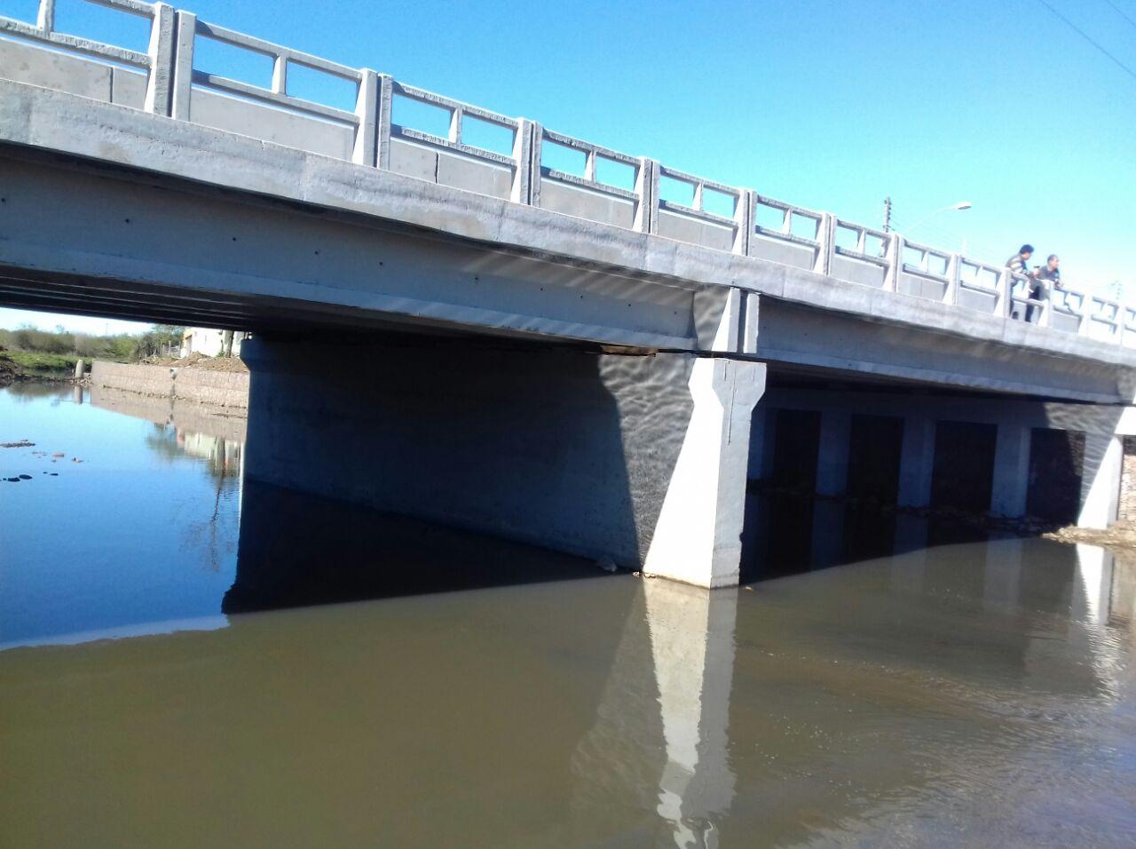 Ponte sobre Arroio Passo Fundo - Obra Pronta